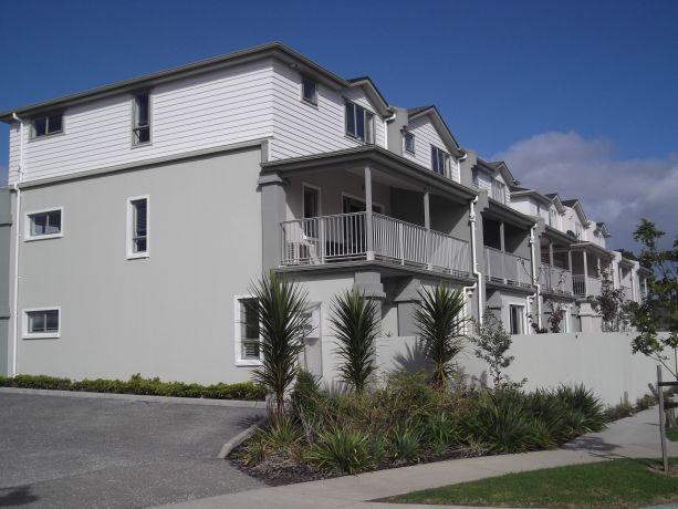 Exterior Plaster On High Density Housing Developments